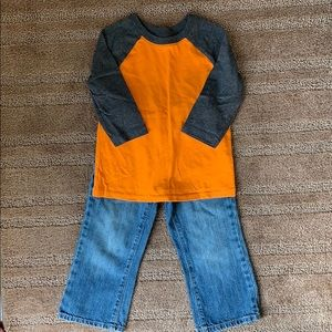 Toddler boy old navy outfit
